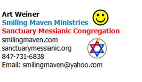 Rabbi Art Business Card